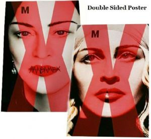 MADAME X  -  TAIWAN DOUBLE SIDED UNIVERSAL POSTER